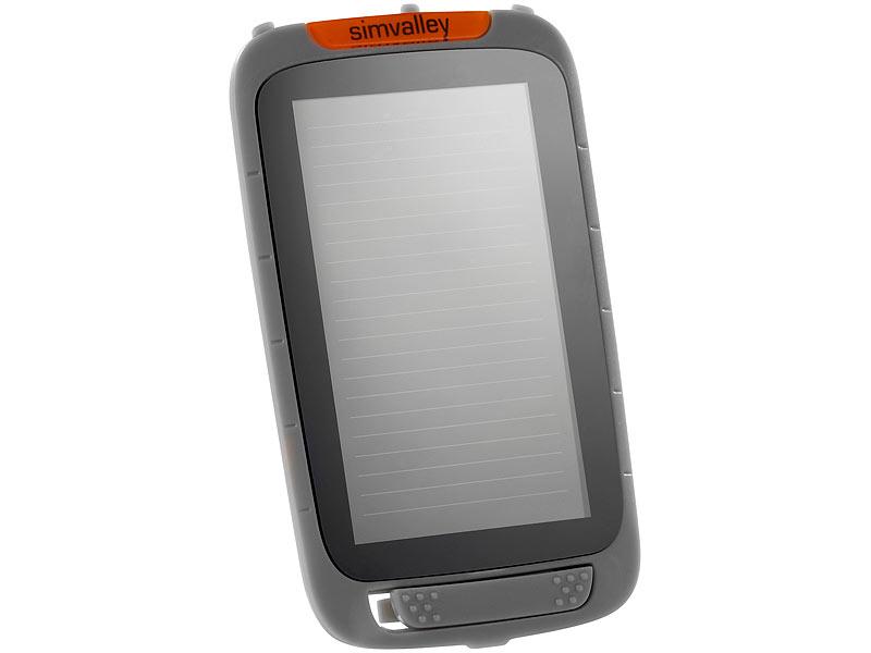 simvalley mobile outdoor smartphone solar panel f r. Black Bedroom Furniture Sets. Home Design Ideas