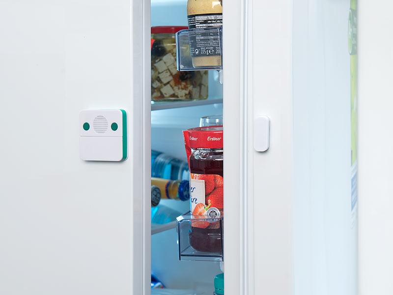 Kühlschrank Befestigung Tür : Visortech türalarm universal türschließ erinnerungs alarm mit