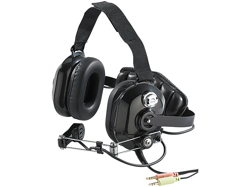 "Mod-it Professionelles Gaming-Headset mit Nackenbügel ""GHS-390.Xtreme"""