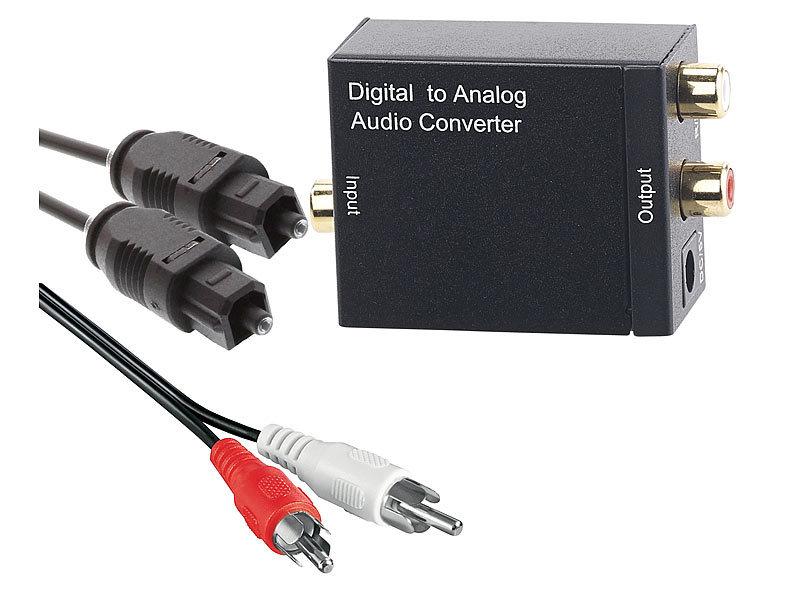 Glasfaserkabel auvisio optisches Audiokabel Optisches Audio-Kabel Toslink Stecker-Stecker 1m