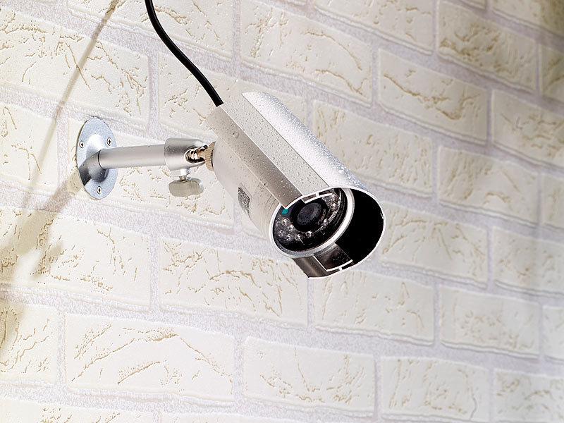 visortech cctv berwachungskamera wetterfeste berwachungskamera mit nachtsicht. Black Bedroom Furniture Sets. Home Design Ideas