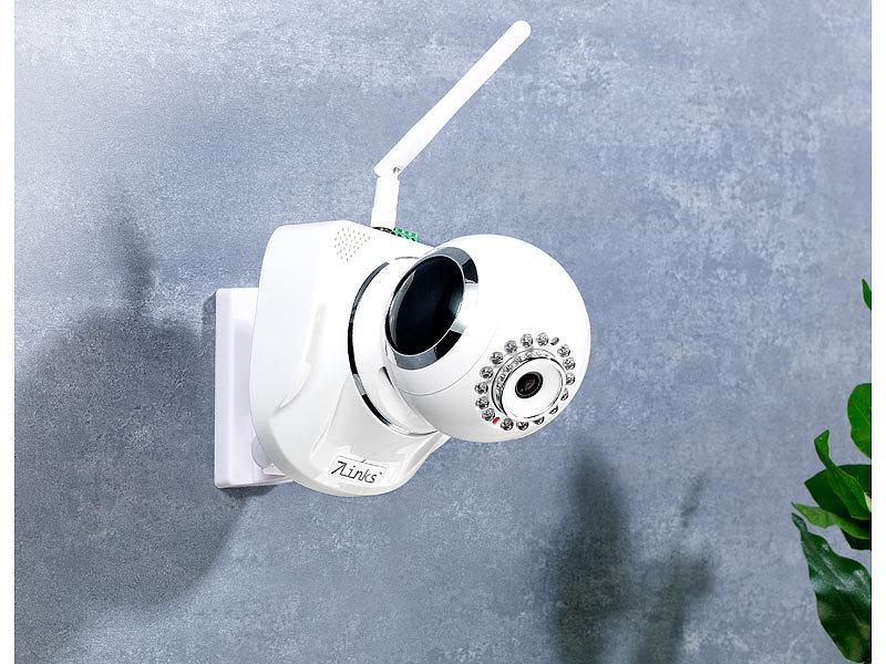7links indoor ip kamera ipc 770hd wei mit qr connect hd wlan ir. Black Bedroom Furniture Sets. Home Design Ideas