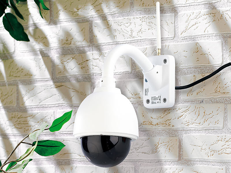 7links domkamera speed dome outdoor ip kamera mit hd. Black Bedroom Furniture Sets. Home Design Ideas