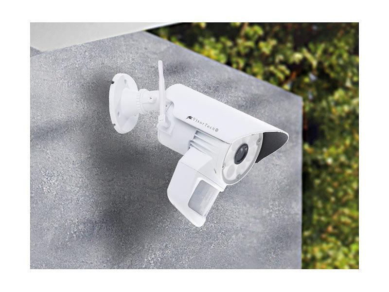 visortech berwachungskamera dsc mit led licht und pir sensor. Black Bedroom Furniture Sets. Home Design Ideas