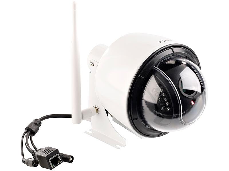 7links dome ip kamera ipc 400 hd f r outdoor ir nachtsicht 720p ip66. Black Bedroom Furniture Sets. Home Design Ideas