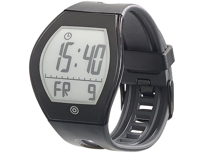 newgen medicals e ink uhr e ink fitness tracker fbt 100. Black Bedroom Furniture Sets. Home Design Ideas
