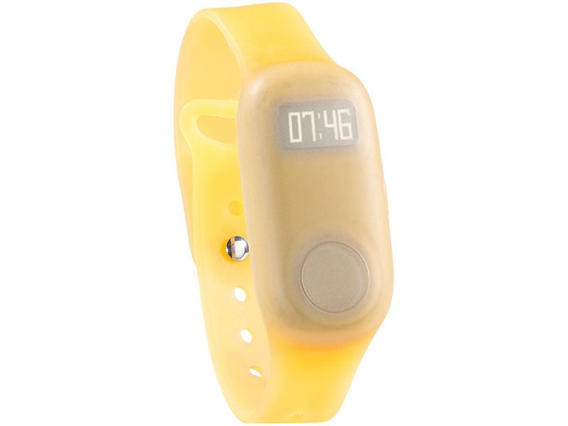 simvalley mobile gps tracker senioren armband orange f r. Black Bedroom Furniture Sets. Home Design Ideas