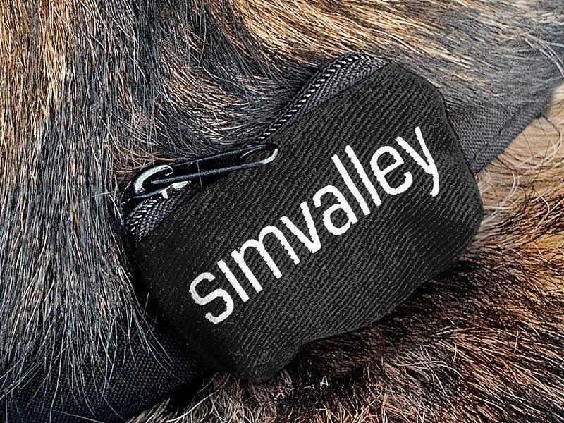 simvalley mobile gps tracker sim hundehalsband 40 60 cm f r gps gsm tracker gt 340 sms gps. Black Bedroom Furniture Sets. Home Design Ideas