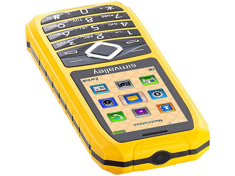 simvalley mobile outdoor handy xt 680 wasserdicht ip67 dual sim. Black Bedroom Furniture Sets. Home Design Ideas