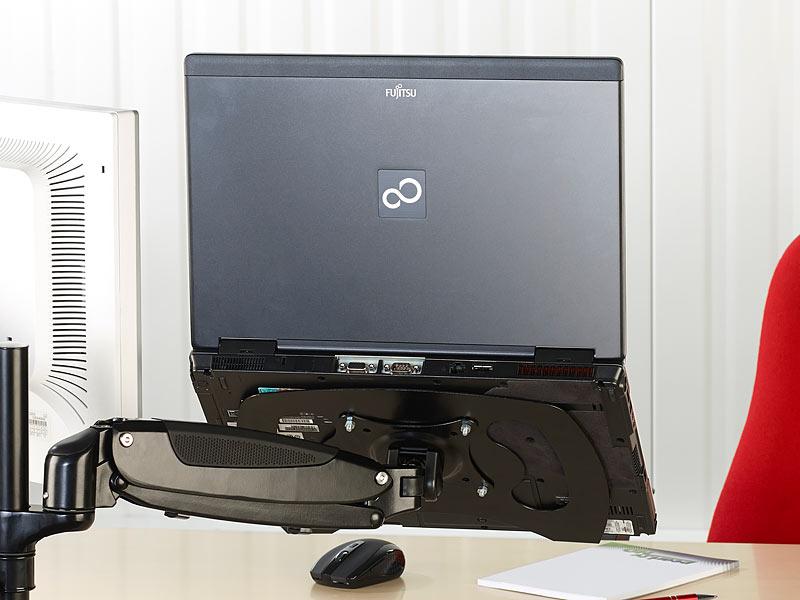 general office vesa notebookhalterung notebook auflage. Black Bedroom Furniture Sets. Home Design Ideas
