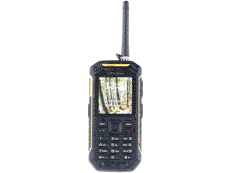 Dual-SIM-Outdoor-Handy mit Walkie-Talkie XT-820