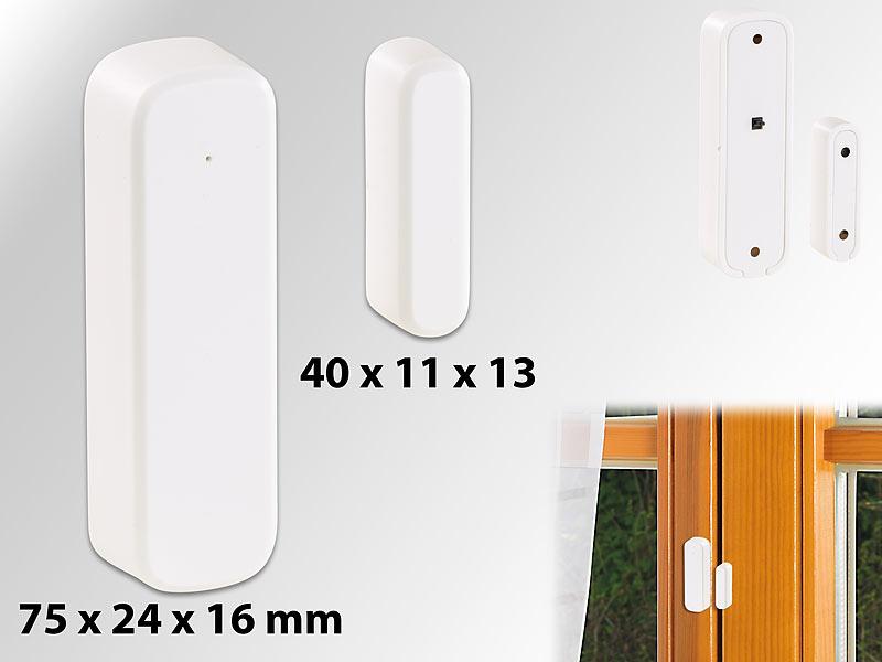 Kühlschrank Tür Alarm : Visortech telefon alarmanlage extraschmaler funk tür fenster
