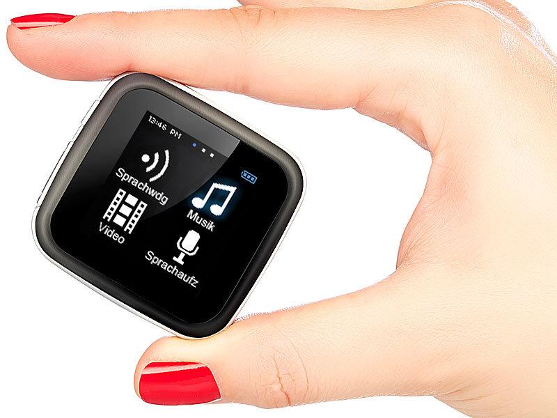 auvisio touchscreen mp3 video player dmp 355 sq mit. Black Bedroom Furniture Sets. Home Design Ideas