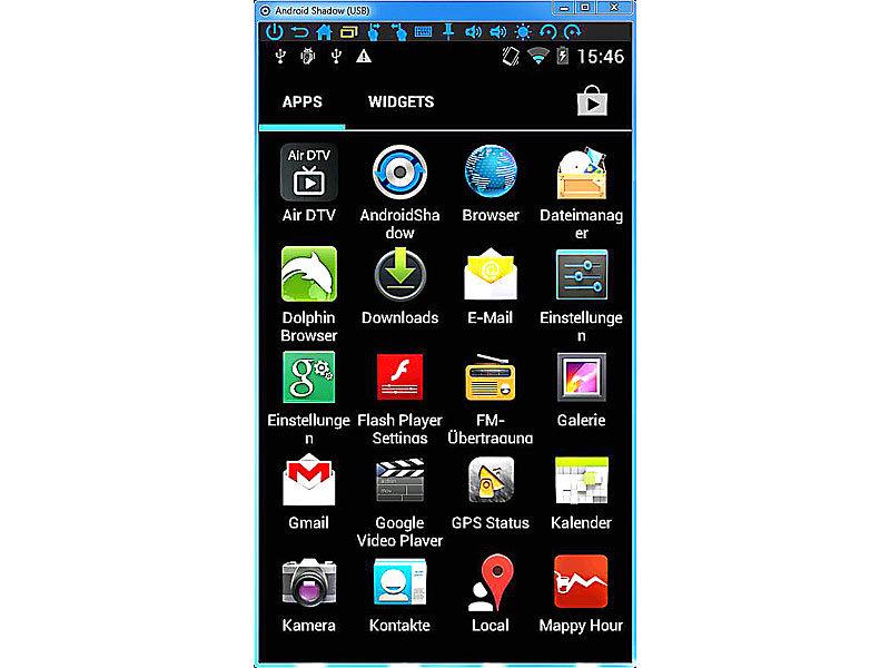 Android Bildschirm übertragen / spiegeln mit Screen Stream ...
