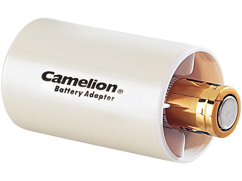 camelion batterie adapter aa akku batterie konverter. Black Bedroom Furniture Sets. Home Design Ideas