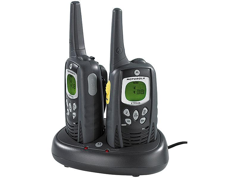 walkie talkie set premium pmr xtr446 mit 8 km reichweite. Black Bedroom Furniture Sets. Home Design Ideas