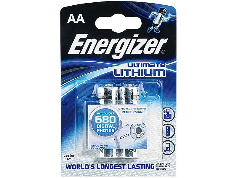energizer lithium batterie ultimate mignon aa 1 5 volt im 2er pack. Black Bedroom Furniture Sets. Home Design Ideas
