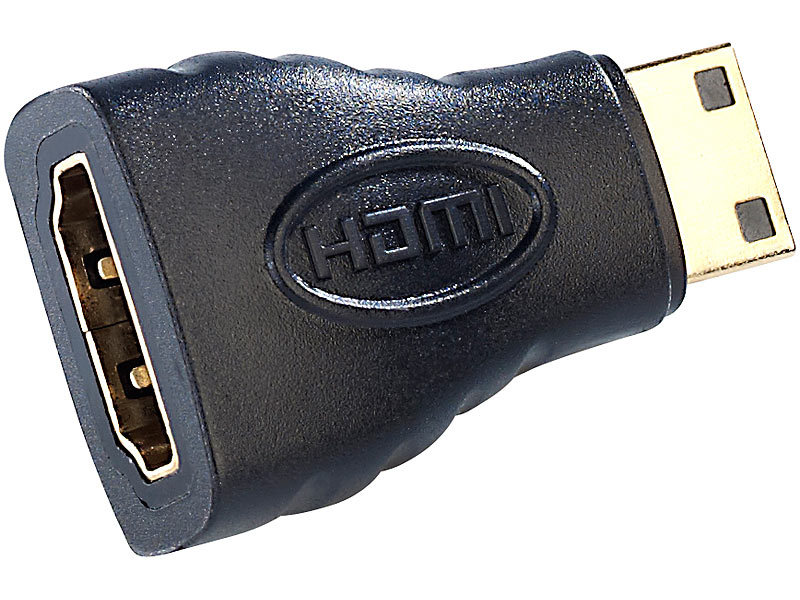HDMI-Adapter HDMI-Buchse (Typ A) auf mini-HDMI-Stecker (Typ C)