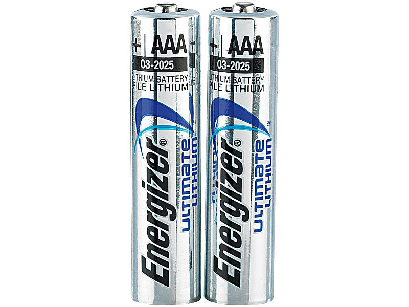 energizer batterien foto ultimate lithium batterie aaa micro 1 5 volt im 2er pack lithium. Black Bedroom Furniture Sets. Home Design Ideas