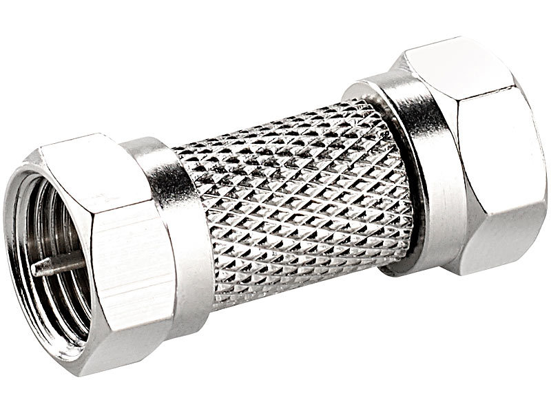 koaxial stecker universal f stecker verbinder schraubbar. Black Bedroom Furniture Sets. Home Design Ideas