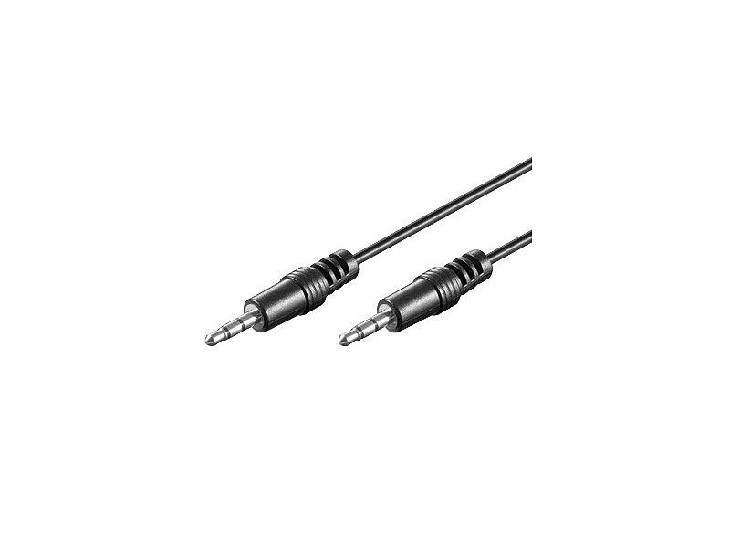 3,5-mm-Klinken-Kabel Stecker auf Stecker, 1,5m, für AUX-Anschluss