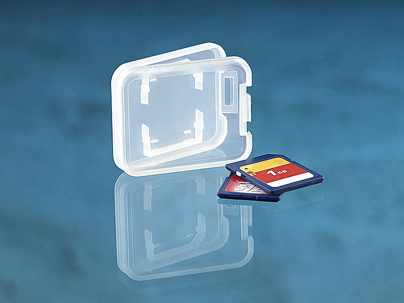 merox speicherkarten boxen speicherkartenbox f r sd minisd microsd und mmc speicherkarten. Black Bedroom Furniture Sets. Home Design Ideas