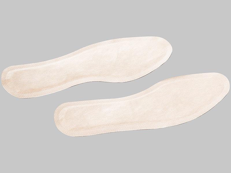 newgen medicals Fussohlenwärmer: 5 Paar Fußsohlenwärmer, Einlegesohlen Gr. S