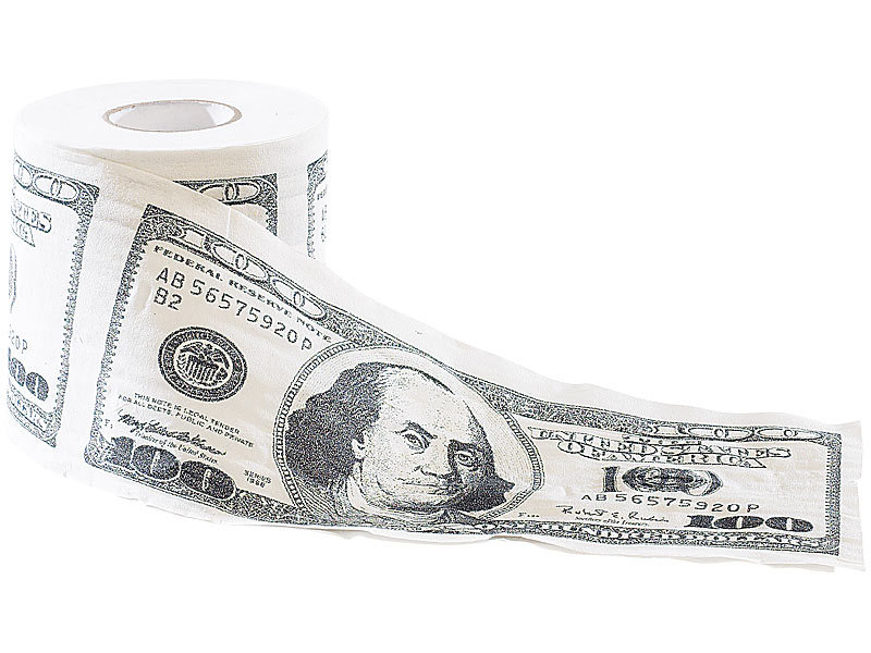 dollar toilettenpapier 100 scheine 5420007610821 codecheck info. Black Bedroom Furniture Sets. Home Design Ideas