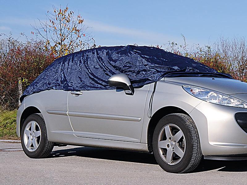 Auto-Halbgarage aus Nylon für Limousinen, 284x125x61cm