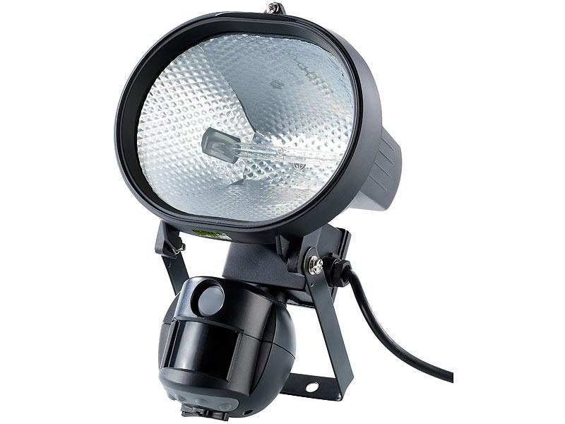 visortech 500 w halogenstrahler mit 5 mp kamera bewegungsmelder. Black Bedroom Furniture Sets. Home Design Ideas