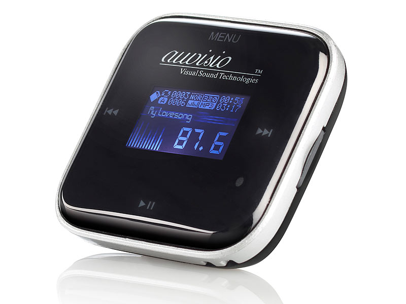 auvisio 3in1 lcd mp3 player fm transmitter kfz ladeger t. Black Bedroom Furniture Sets. Home Design Ideas