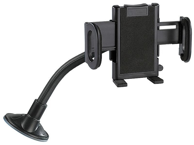 lescars handy kfz halterung universal schwanenhals. Black Bedroom Furniture Sets. Home Design Ideas