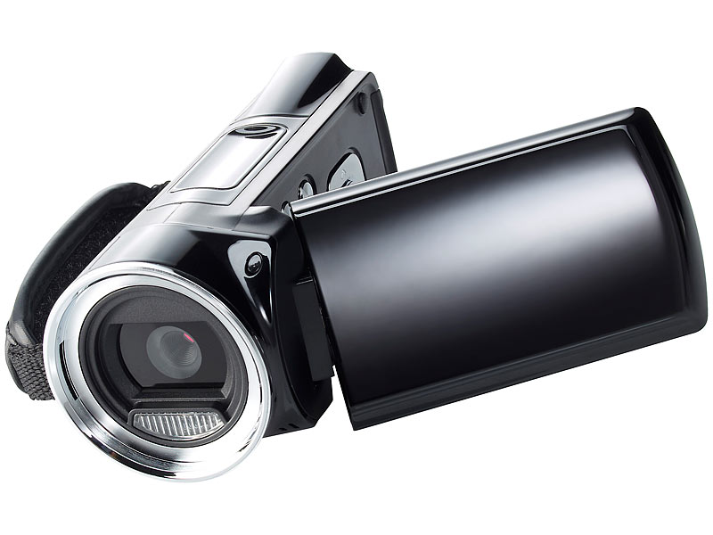 "Full-HD-Camcorder DV-812.HD mit 6,9-cm-Display (2,7""), 12 MP & HDMI"