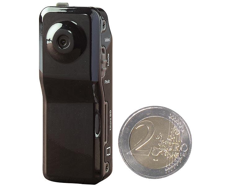 somikon 3in1 mini berwachungs cam mit sprach aktivierung. Black Bedroom Furniture Sets. Home Design Ideas