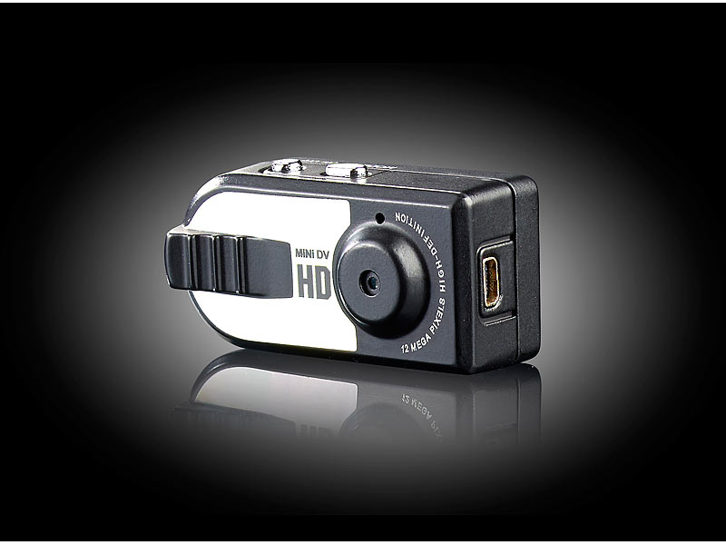somikon mikrokamera hd mini kamera ac mit se zum. Black Bedroom Furniture Sets. Home Design Ideas