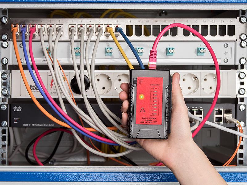 7links kabeltester 2in1 netzwerk telefonkabel tester f r rj 45 und rj 11 2 modi netzwerk. Black Bedroom Furniture Sets. Home Design Ideas