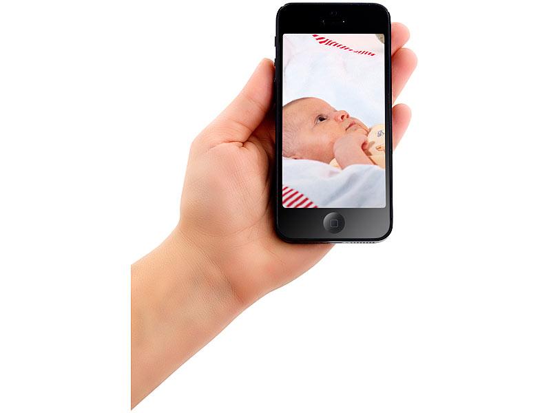2 iphone als babyphone