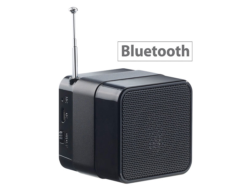auvisio mini mp3 station mps mit bluetooth radio. Black Bedroom Furniture Sets. Home Design Ideas