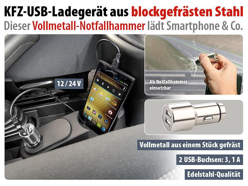 USB AUTO LADEADAPTER smartphone kfz ladegerät für