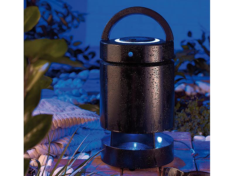 auvisio aktiver outdoor lautsprecher mit audio funksystem. Black Bedroom Furniture Sets. Home Design Ideas