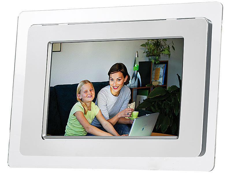 digitaler tft lcd bilderrahmen mediaplayer 18 5 cm 8. Black Bedroom Furniture Sets. Home Design Ideas