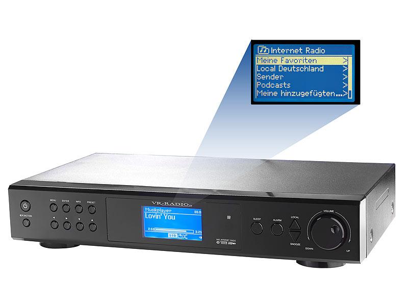Internetradio-Tuner IRS-410.HiFi mit LAN/ WLAN