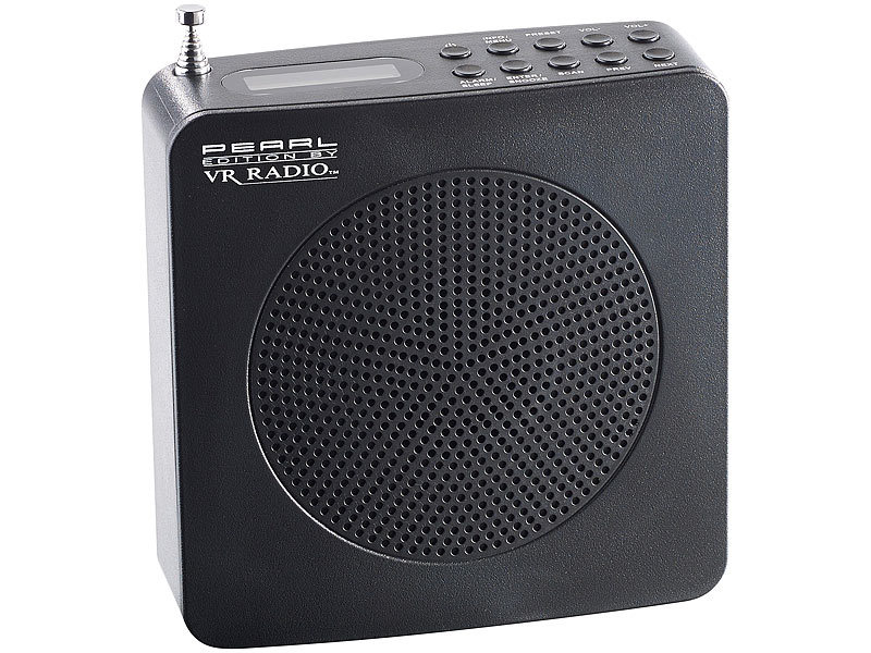 Digitales DAB+/FM-Radio DOR-200.FM mit Akku & Kopfhörerbuchse