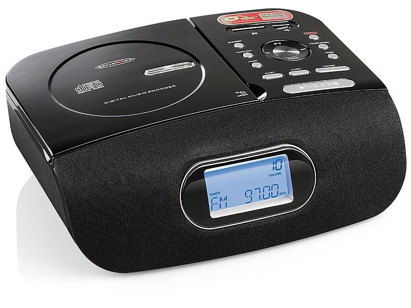 reflexion cd uhren radio mit usb sd und encoding funktion. Black Bedroom Furniture Sets. Home Design Ideas