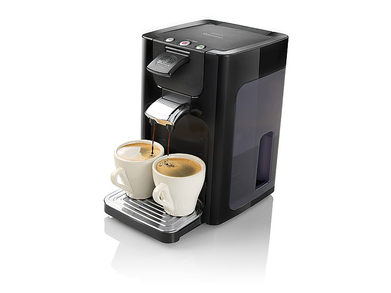 philips kaffeeautomat senseo quadrante schwarz hd7860 60. Black Bedroom Furniture Sets. Home Design Ideas
