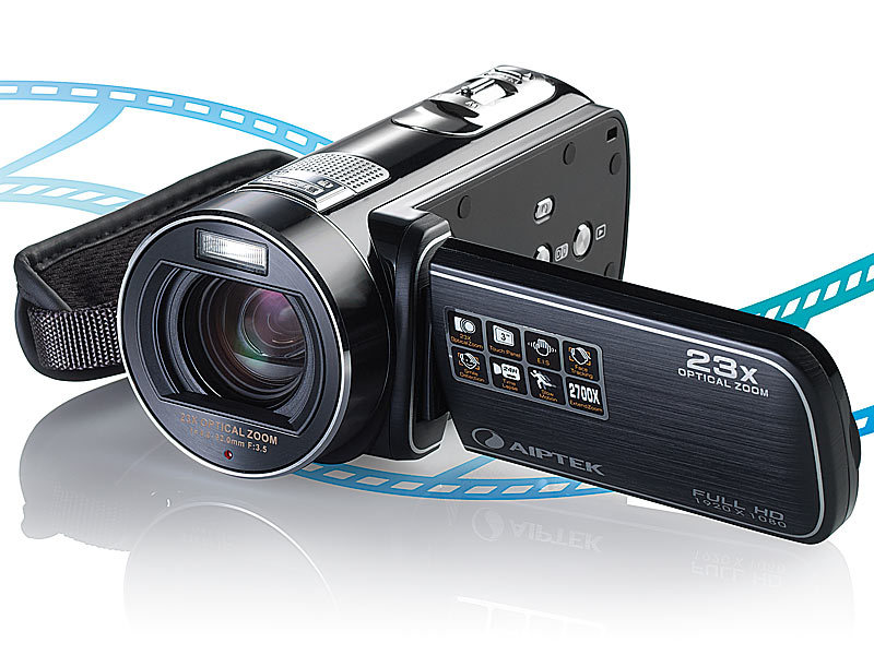 AIPTEK Full-HD-Camcorder AHD H23 Extreme, 3\