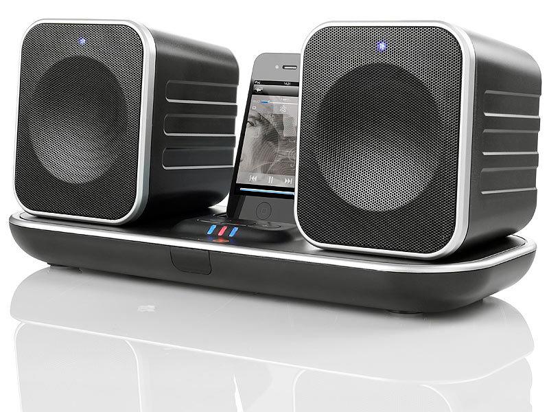 muvid funklautsprecher dock funk lautsprecher m ipod. Black Bedroom Furniture Sets. Home Design Ideas