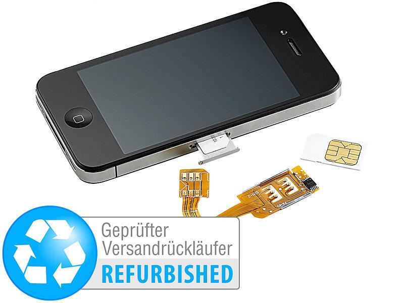 Adapter Für Sim Karte.Callstel Dual Sim Karte Adpater Dual Sim Adapter Iphone 4 4s Mit