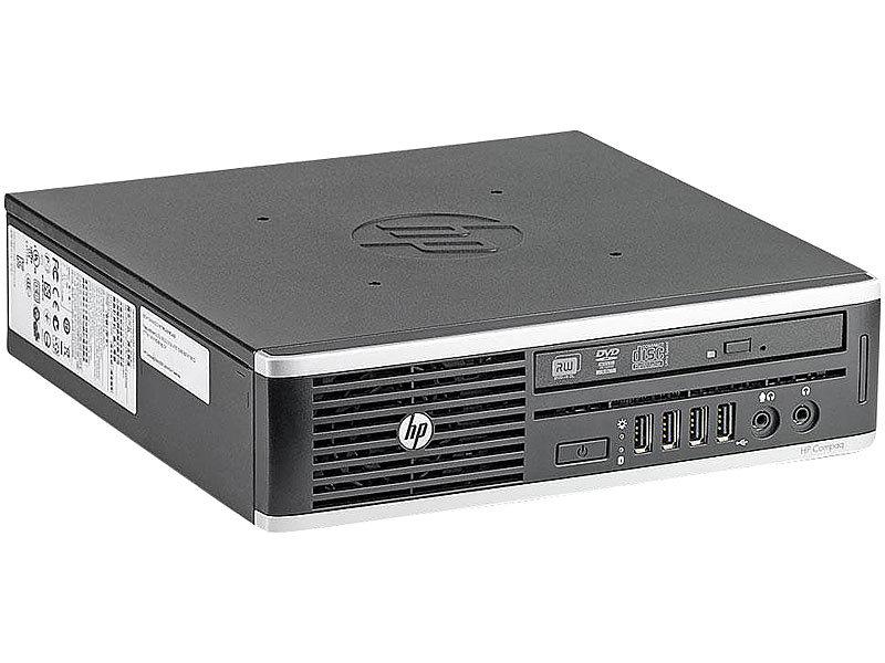 hp Elite 8300 USDT, Core i5-3470S, 8 GB RAM, 320 GB HDD (generalüberholt)