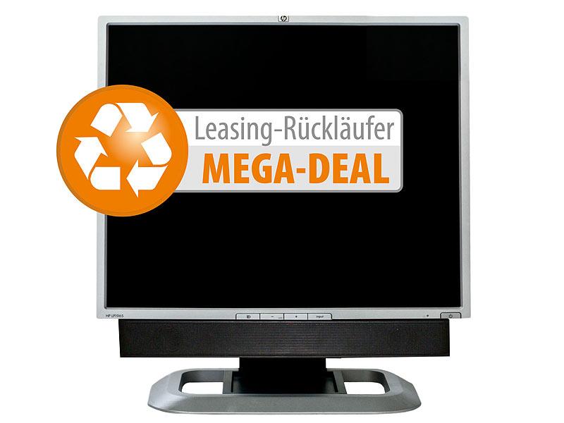 hp lp1965 19 48 cm tft monitor inkl hp speakerbar. Black Bedroom Furniture Sets. Home Design Ideas